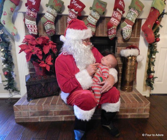 Mason and Santa