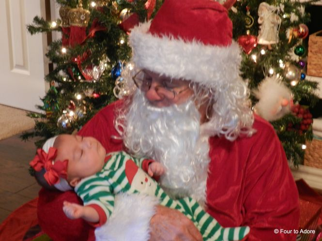 Rylin and Santa