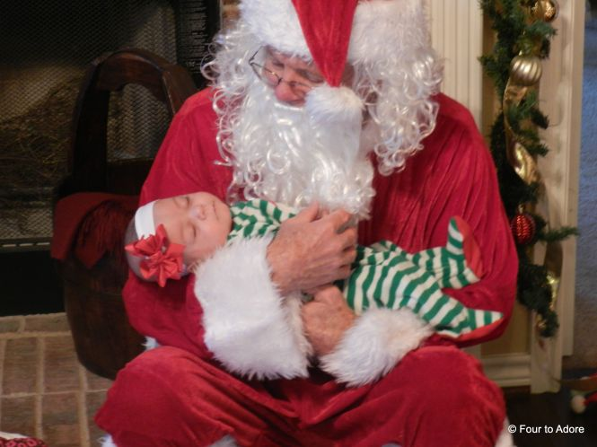 Sydney and Santa