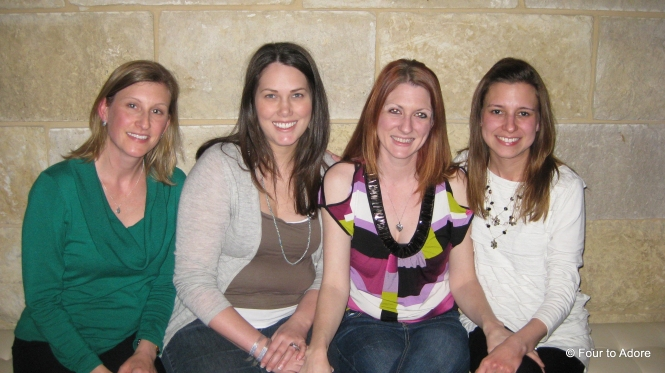 Tarra, Katie, Courtney, and I at Mi Cocina for a bit of Tex Mex and girl time.
