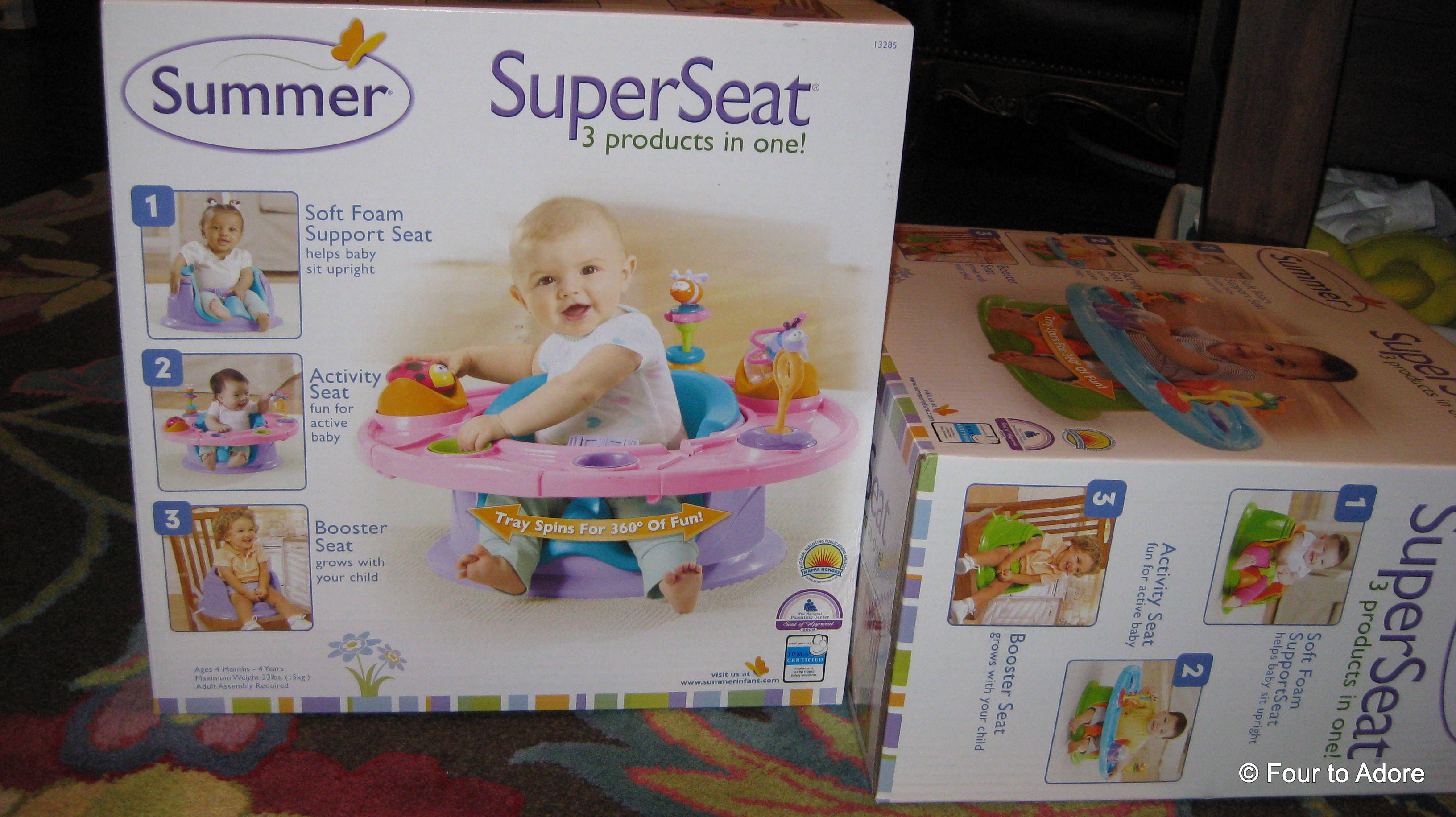 Super Seat – Four to Adore