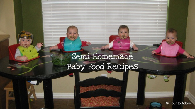How to make baby food using frozen, dairy, canned, and fresh produce