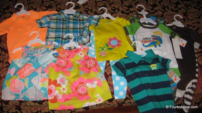 We go out for date night and what do we do? Go shopping for baby clothes of course!