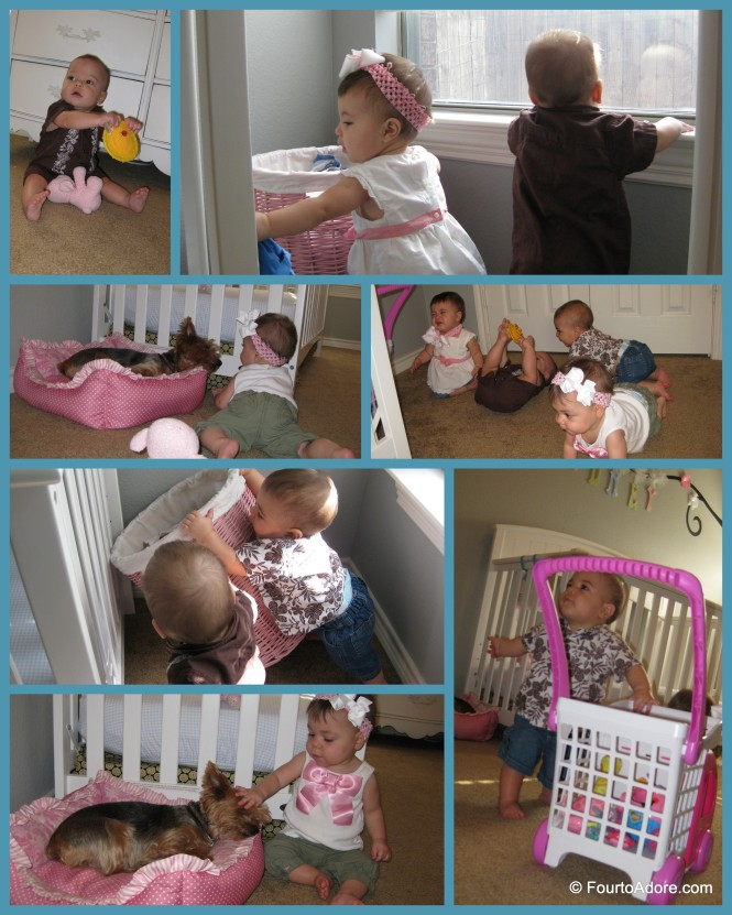 We had some fun capturing the babies documentary style.