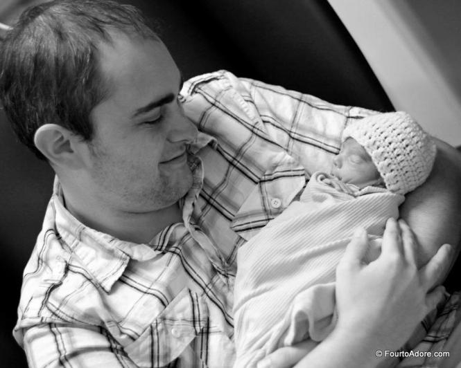 When you held Harper for the first time I could see the love in your eyes.