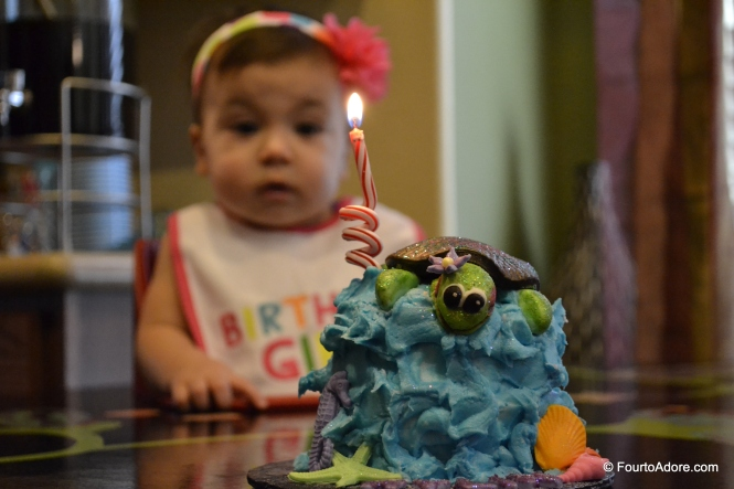 The candle came as quite a surprise to Rylin.