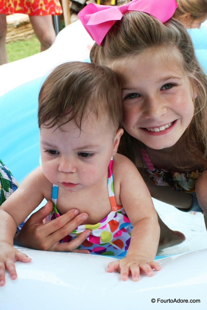 Sydney and cousin, Taylor