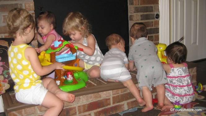 The Weebles Treehouse was by far the favorite toy.