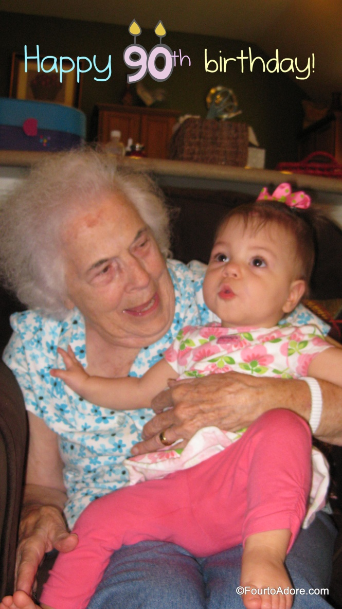 Sydney gravitated to Granny and cuddled with her for a long time.