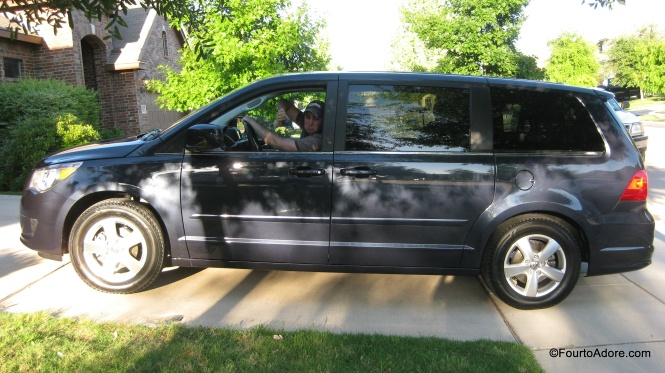 Here;s the van we bought to hold the quads.  I think we should keep it until they are old enough to drive it.