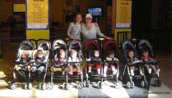 Baby Hauling {Combi Twin Cosmo Stroller Review} – Four to Adore