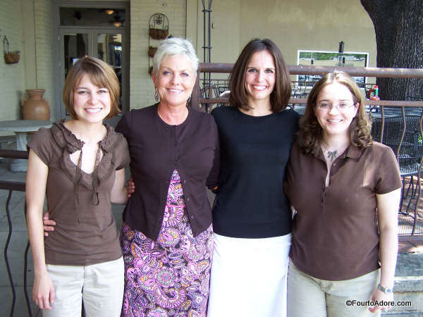 This was our final day of internship. When I found this picture, I noticed a few interesting things. 1. Melissa & I are dressed alike in chocolate brown with khaki (I think the more time you spend with someone, the more things you do the same, and that includes dressing alike). 2. There were three specialist level interns our year (we are in the picture on the bottom with our supervisor) all three of us are now MoMs. Jenny (black shirt) has identical twin girls, I have the quads, and Melissa is now expecting twin girls.