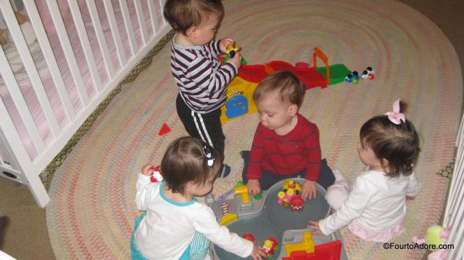 What I love most about all of our toys, is that the boys and girls play together.