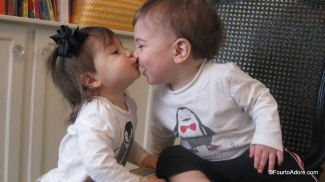 The babies may fight nearly constantly, but they have a strong sibling bond and adore each other too.