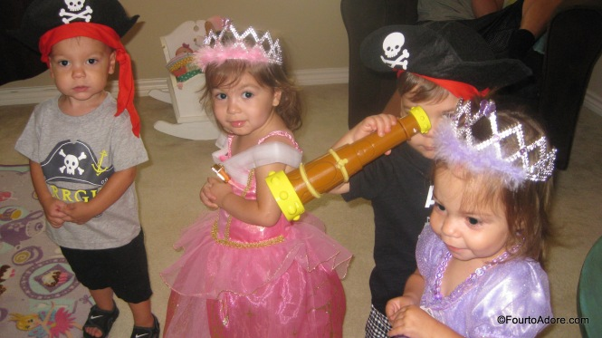 Pirates and Princesses birthday