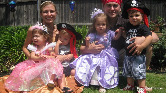 Princesses and Pirates birthday.