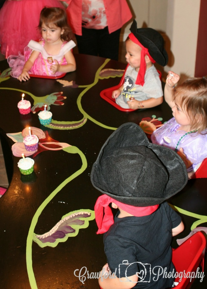 The boys easily made wishes and blew their candles out, but the girls were a bit more hesitant.  Rylin used a straw to finally blow hers out, but Sydney got help from Mason.