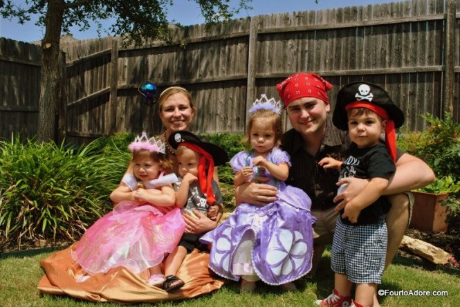pirates and princesses birthday party