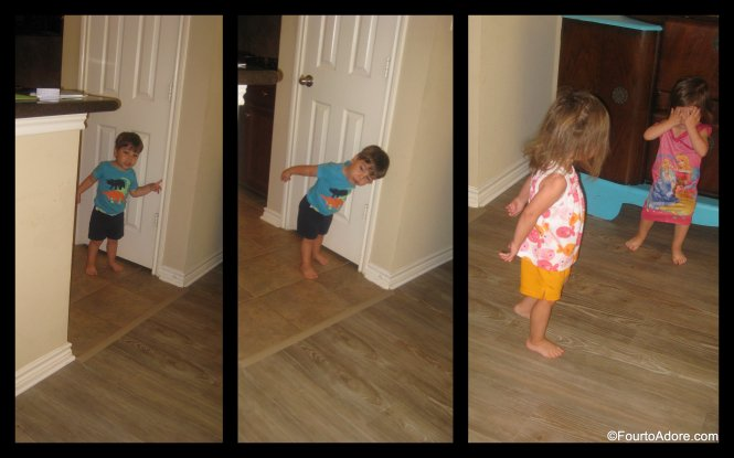 quads reaction to finding Halloween decorations