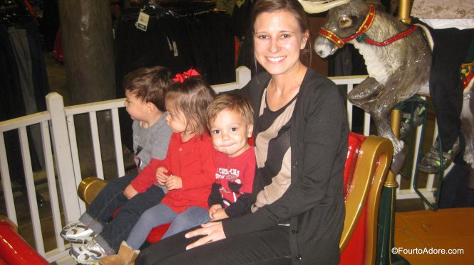 Free Carousel at the Bass Pro Shops