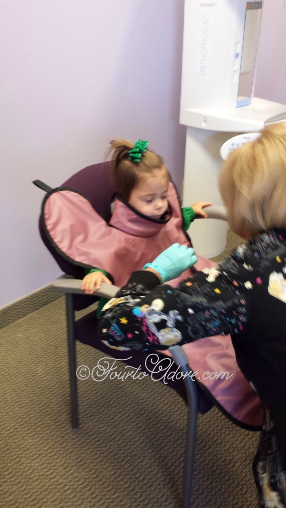 dental x rays for a toddler