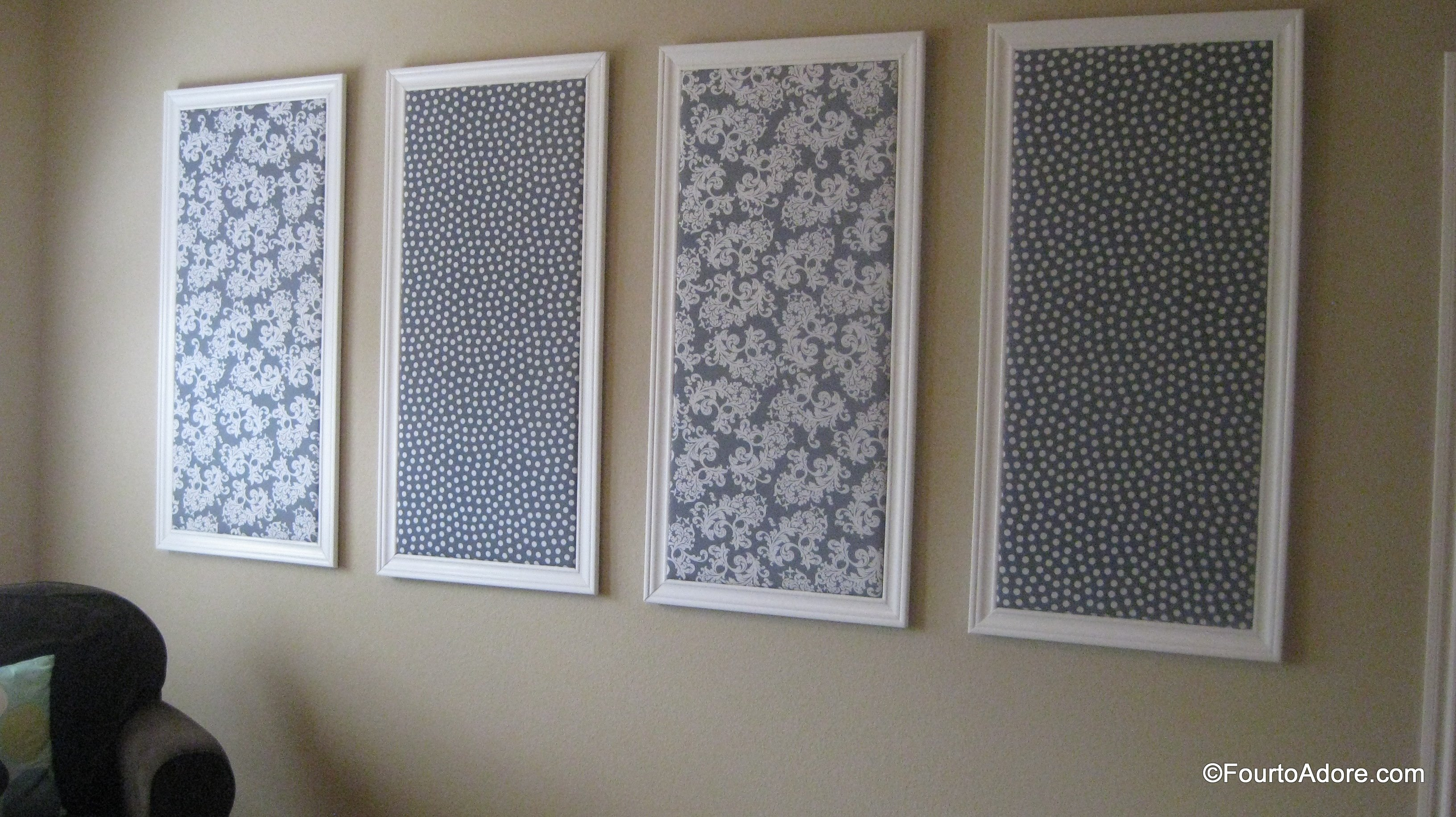 Diy Bulletin Board Four To Adore