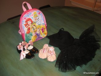 Toddler Dance Bag