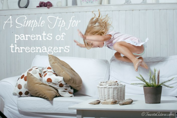There's no such thing as the terrible two's so what is a parent to do? Try this simple tip. ©FourtoAdore.com
