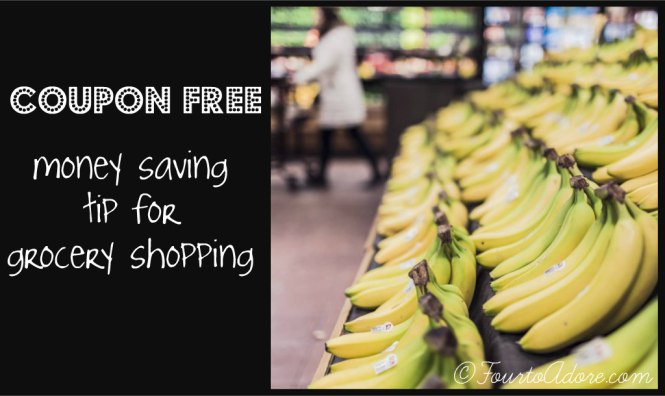 coupon free money saving tip