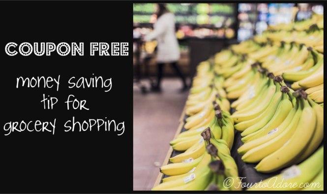 coupon free money saving tip