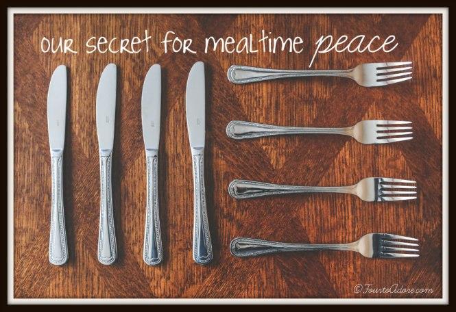 mealtime peace