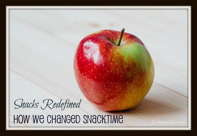 snacks redefined