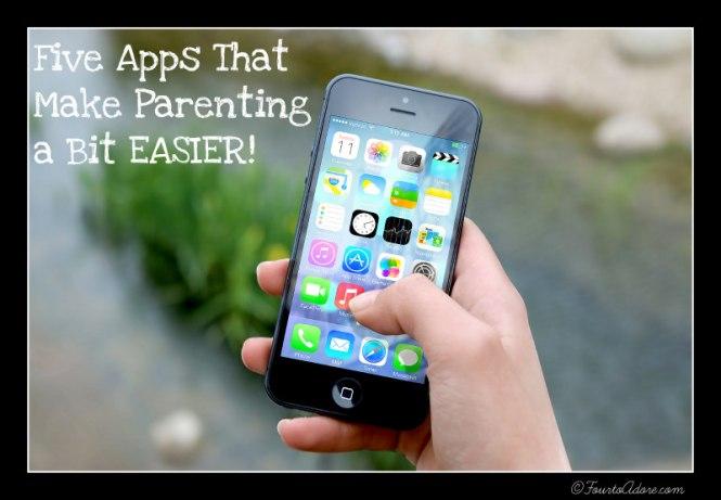 5 Apps that make parenting a bit easier